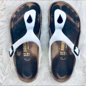 Birkenstock Gizeh Thong Sandal White 37 L6